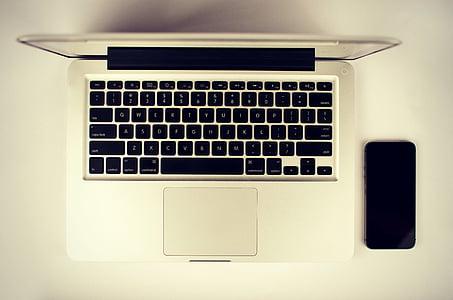 laptop, Apple, klávesnica, Technológia, Mac, Aplikácia, softvér