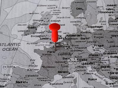 Atles, mapa, París, PIN, punt de trobada, destinació, capital