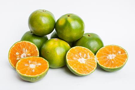 puu, oranž, taust, loodus, tervise, magusa apelsini, tervisliku toitumise