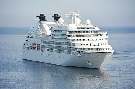 kryssning, fartyg, Cruiser, kryssningsfartyg, Holiday, ship reser, resor