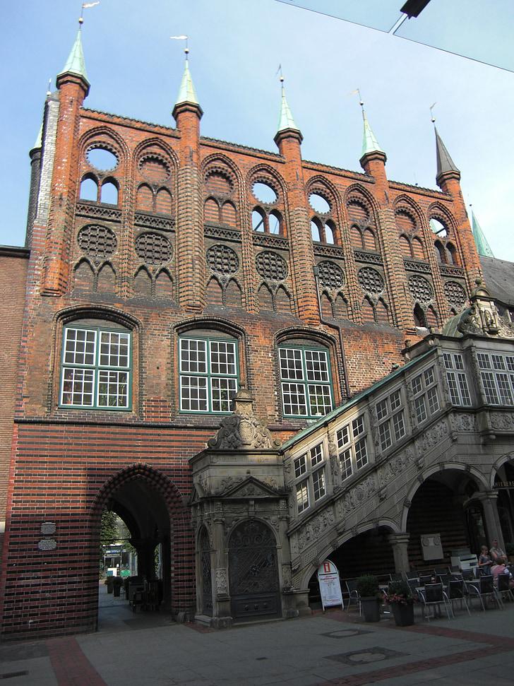 Ганзейські міста, Lübeck, ратуша, Історично, Будівля, Архітектура, Ганзейский союз