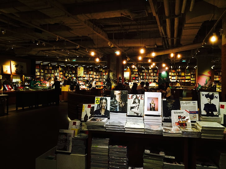 bookstore, the party, culture