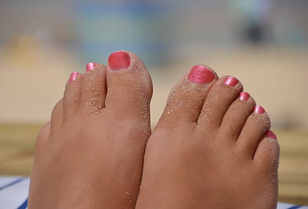 feet, beautiful woman, carbis bay, st ives, cornwall, sand, paint