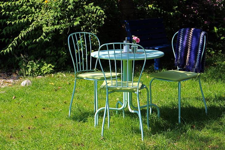ガーデン, リビング家具, 座席配置, 椅子, テーブル, ケータリング サービス, 美食