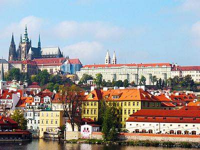 Praha, arkitektur, tsjekkisk, bybildet, Europa, Tsjekkia, berømte place