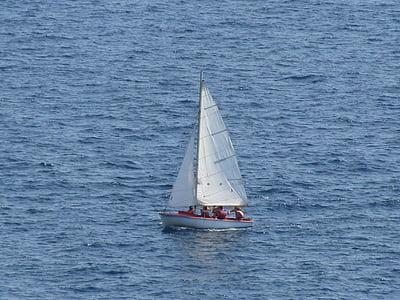 segelbåt, segling, båt, Yacht, havet, Ocean, Yachting