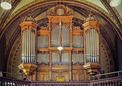 bažnyčia, organų, muzika, organų švilpukas, Bažnyčios vargonai, metalo, bažnytinės muzikos