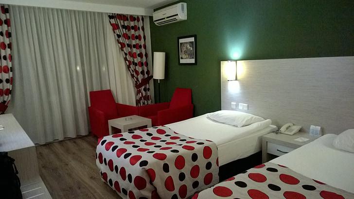 Hotel, Double, turist, Türgi, Vahemere