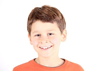 Poika, muotokuva, ihmiset, Iloinen, henkilö, lapsi, nuori