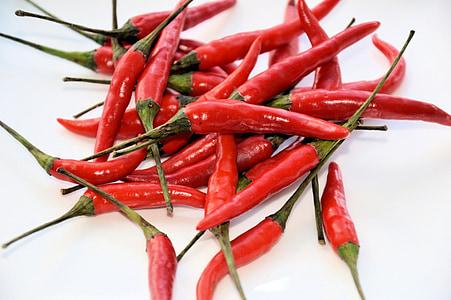 paprike, hrana, povrće, vruće, začin, svježe, zdrav