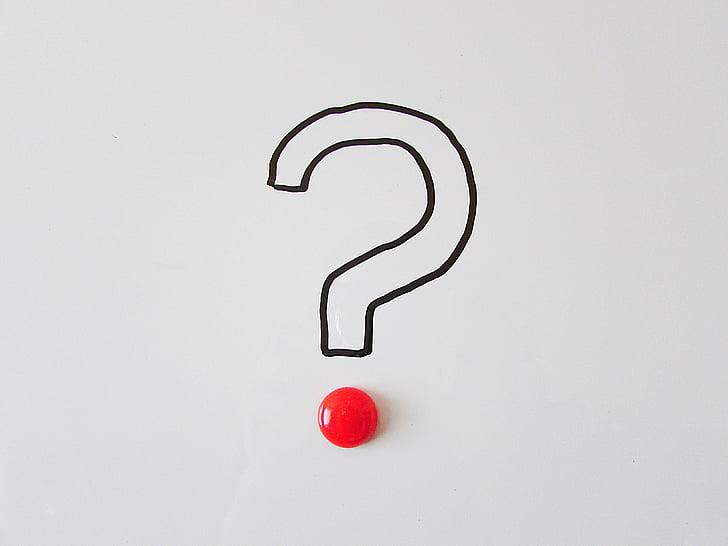 spørgsmålstegn, spørgsmål, symbol, tegn, Hjælp, svar, ofte stillede spørgsmål