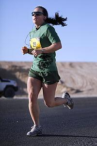 tekač, tekmovanje v teku, dolge razdalje, fitnes, ženski, športnik, vzdržljivost