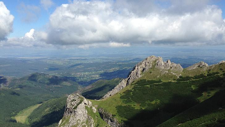 mountains, tatry, poland, landscape, the high tatras
