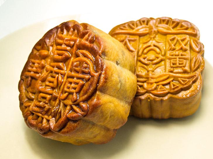 mooncake, средата есенен фестивал, празничен сезон