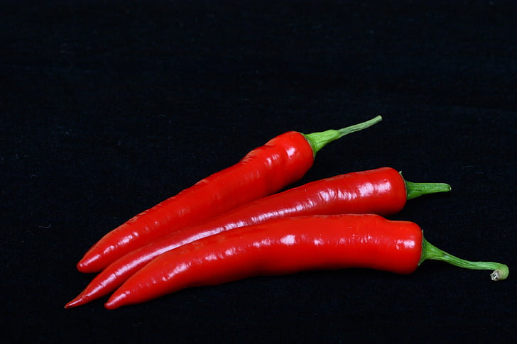 punane, kuum, pipar, toidu, taimne, Spice, soojuse - temperatuuri