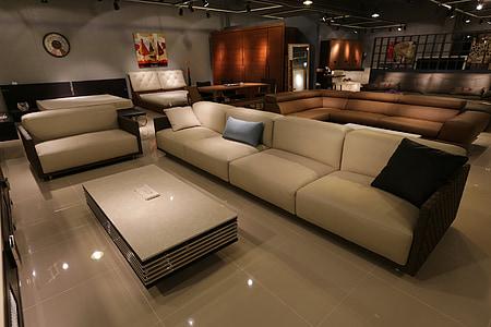 disseny d'interiors, sofà, sofà, sala d'estar, mobles, interior, vivint