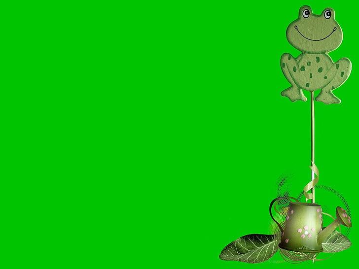 frosk, dyr, Fairy, historie, potten, hage