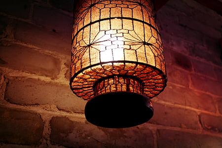 ในร่ม, ลมจีน, โคมไฟ