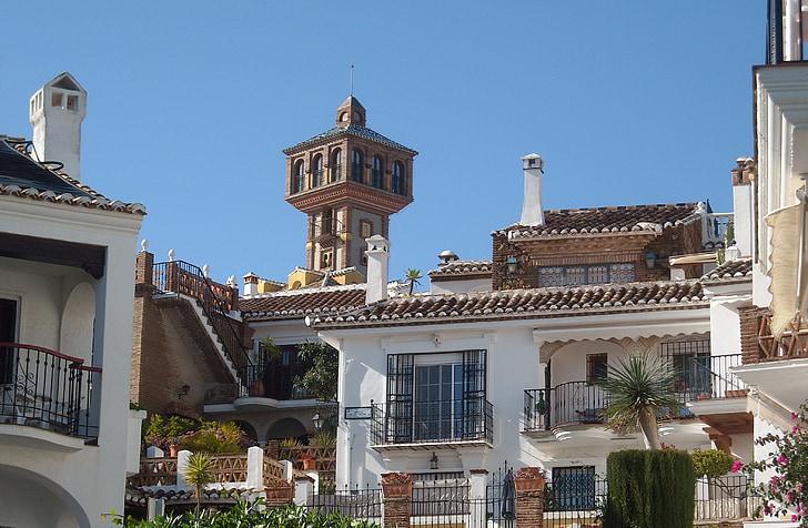 Aida puebla, Spanien, morisk stil, Costa del sol
