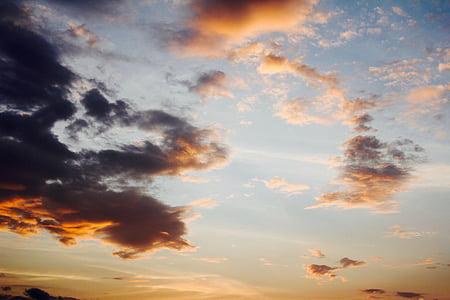 ท้องฟ้า, เมฆ, รังสี, สีฟ้า, เมฆสีดำ, คราม, ท้องฟ้าที่ครอบคลุม
