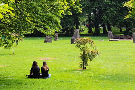 park, grass, nature, summer, green, outdoor, landscape