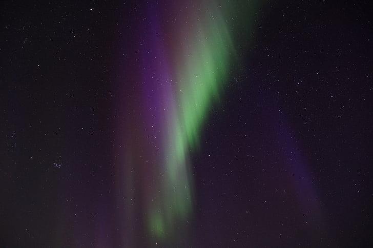 Kuzey ışıkları, İsveç, Lapland, Aurora borealis, Kiruna, Abisko, Aurora sky istasyonu