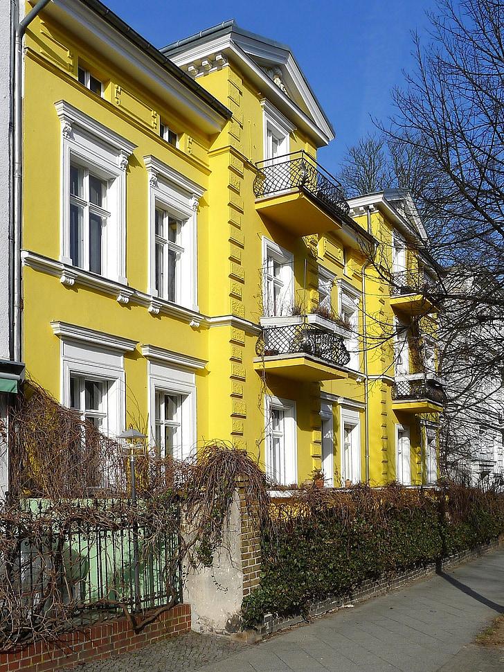 Berlín, Německo, dům, Domů Návod k obsluze, Architektura, městský, mimo