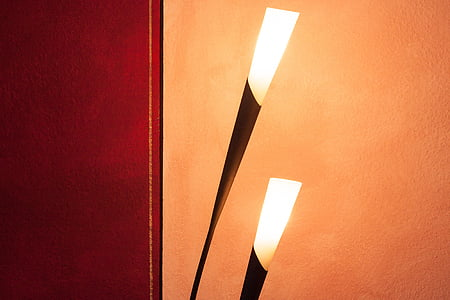 Lámpara, luz, Lámpara de pie, diseño, Lámpara de diseño, noble, flora