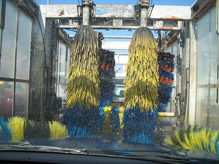autopesu, auto, pesta, Puhastage, vee, auto, puhastamine
