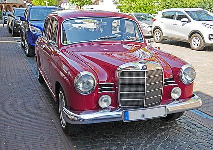 Mercedes 180, Oldtimer, 1958, restaurat, operativa, aprovat, treballat