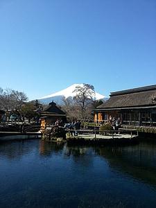 Fuji, Japó, viatges, muntanya, paisatge, natura, Mt