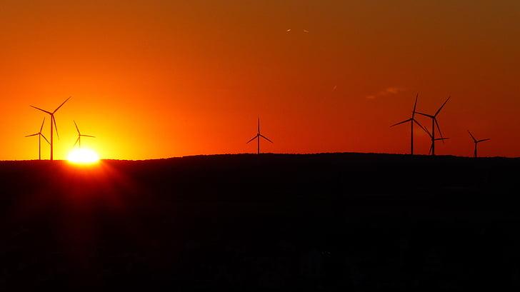 Parc del vent, aerogeneradors, windräder, energia eòlica, energies renovables, energia, Tecnologia Ambiental