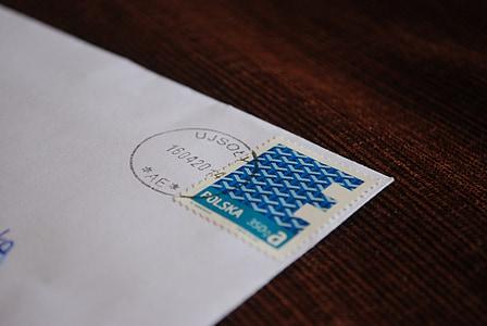 email, letter, postal codes, stamp, the envelope
