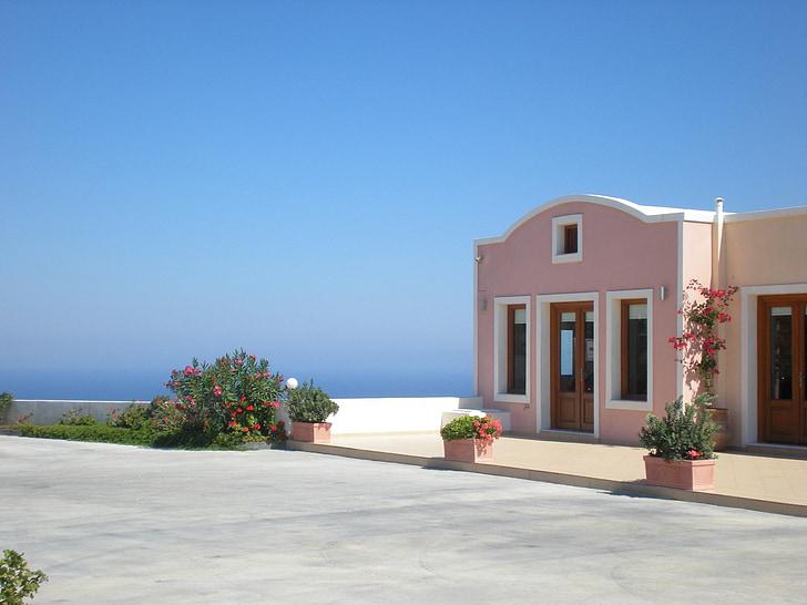 Santorini, görög sziget, Görögország, Marine