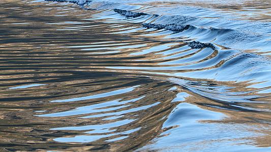 ondas, ondas, Mini, ondulación del agua, naturaleza, líquido, mar