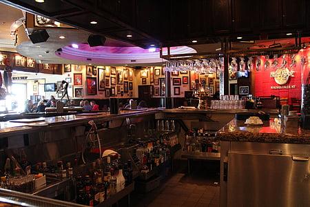 hard rock café, bar, restaurant, pub, usa, erie lake, niagara