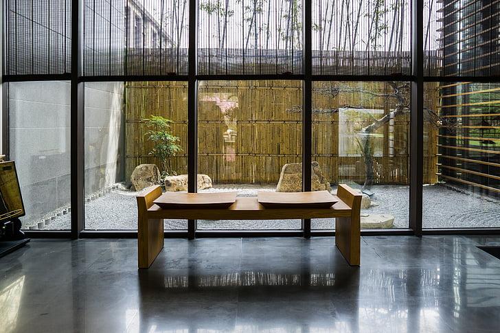 Zen, Halaman, Atrium, pemandangan