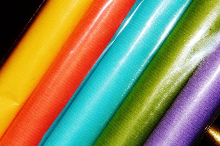 balicí papír, barevné, Pack, balení