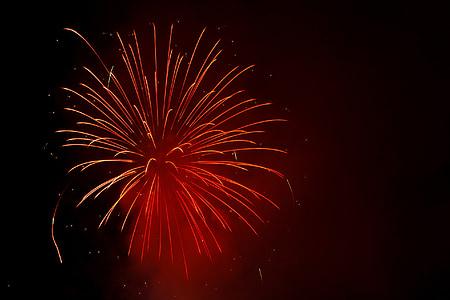 fekete, burst, ünnepelni, ünnepe, sötét, esemény, felrobban