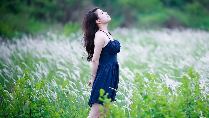 šťastný, dýchanie, Meditujúci, meditovať, Zen, Sky, mier