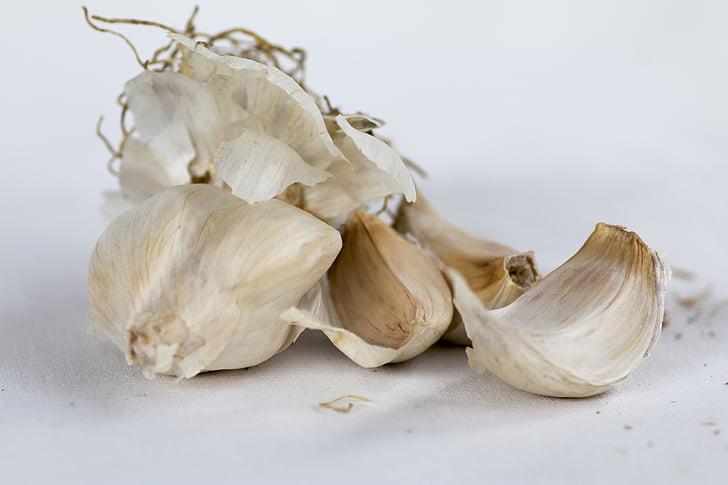 cesnak, strúčiky cesnaku, korenie, Kuchyňa, rastlinné, trhu