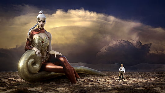 fantasy, mood, mystical, atmosphere, fairytale, landscape, light