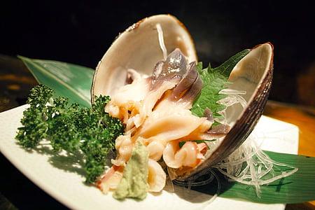 restaurang, japansk mat, Japan mat, sashimi, Shell, Taverna, köket