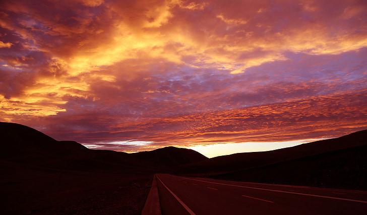 ทัศนียภาพ, ระบบคลาวด์, เขียนเมฆ, พื้นหลัง ppt, ภูเขา