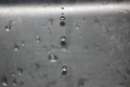 l'aigua, pica, Aixeta, gota, gota, gotetes, líquid