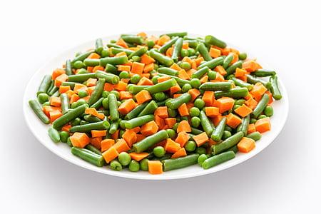 야채, 믹스, 샐러드, 음식, 건강 한, 채식, 그린