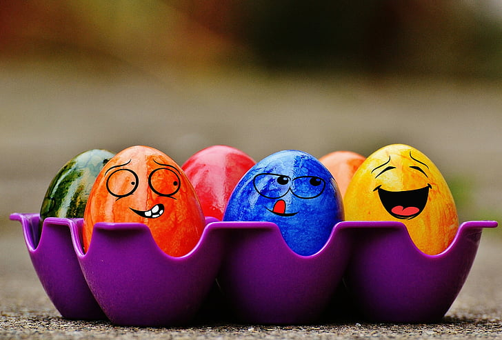 Setmana Santa, ous de Pasqua, divertit, colors, bones festes, ou, color