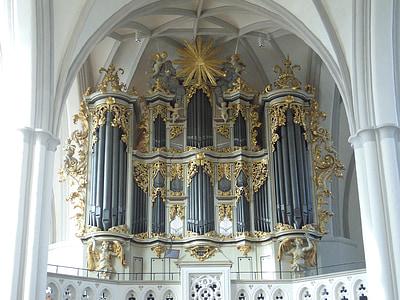 Berlín, l'església, òrgan de l'església, òrgan