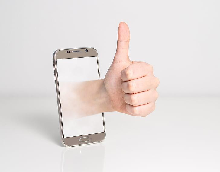pulgar hacia arriba, buena, bien, sello de aprobación, aceptar, mano, signo de mano