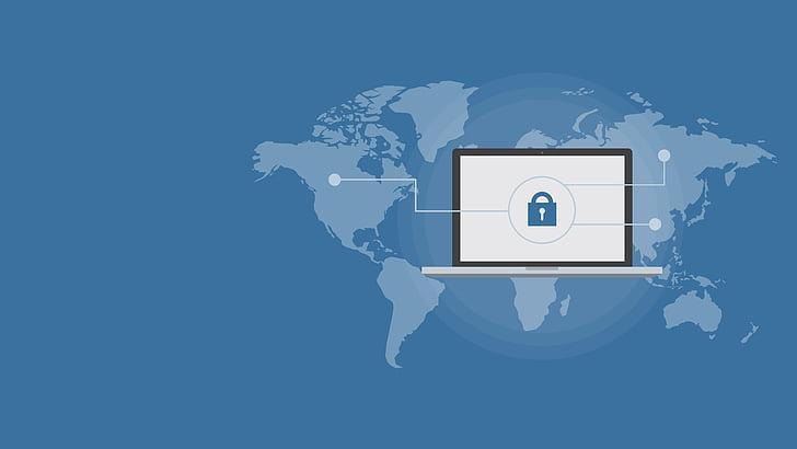 Cyber-sécurité, en ligne, ordinateur, Cyber, réseau, technologie, Internet